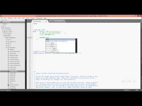 wordpress development - dbDelta, custom products database table