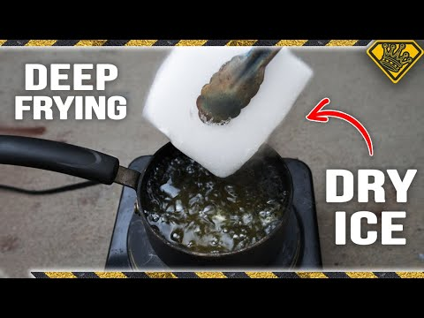Deep Frying Dry Ice