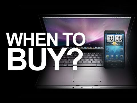 When to Buy a New Phone or Laptop