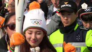 (ENG) PyeongChang 2018 Olympic Torch Relay Highlight from the 1st Week