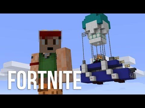 FORTNITE in Minecraft!!