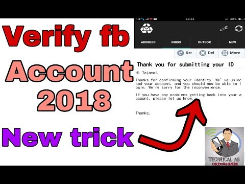 How to make fb verify account 2018 | fb verify account new trick 2018 | by technical ab