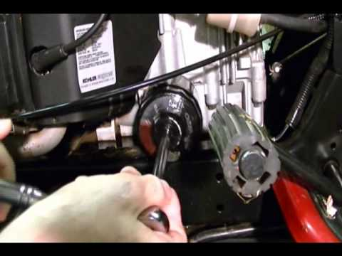 Small Engine Repair: How to Change the Engine Oil and Oil Filter on a Lawn & Garden Tractor