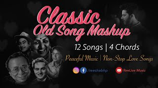 Classic Old Song Mashup | Non-Stop Old Bollywood Songs | Love Songs | Peaceful Music | Reeshabh P