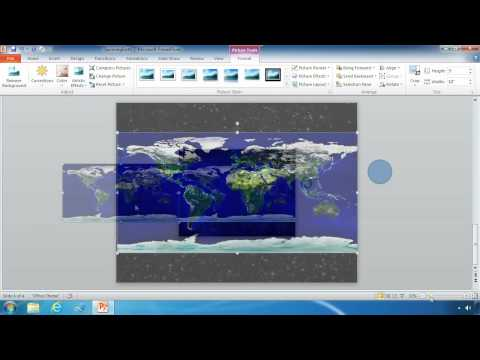 PowerPoint Spinning Globe Overview (cc)