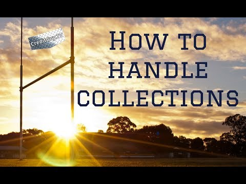 How to handle collections on a credit report. Credit Score Tips