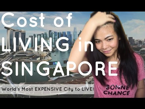Cost of Living in SINGAPORE