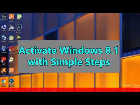 How to Activate windows 8.1 without Product key