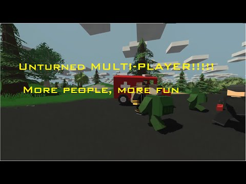 How to host and connect to a Unturned MP server