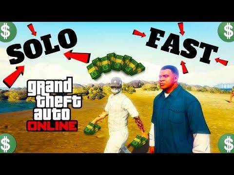 PS4*SOLO Unlimited Money Glitch*SP to MP glitch*Fast Car Duplication Glitch*Get Rich*GTA 5 ONLINE