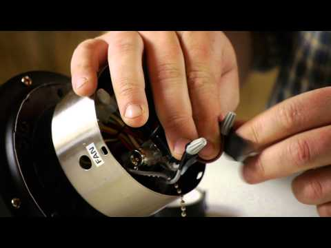 How to Install a Ceiling Fan Speed Control Switch : Ceiling Fan Maintenance