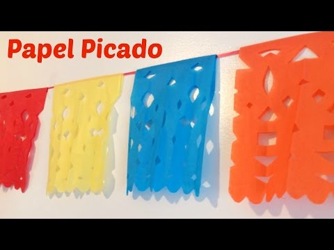How to Make Papel Picado (Mexican Streamers)