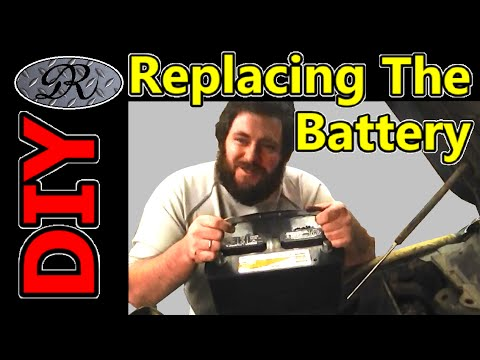 ★DIY Changing The Battery In Your Vehicle. Replace That Old, Weak or Dead / Dieing Battery