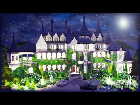 The Sims 4: Speed Build - Great Gatsby's Mansion Part 1