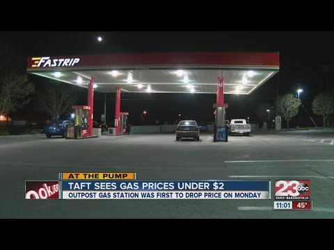 City of Taft has several gas stations with prices under $2