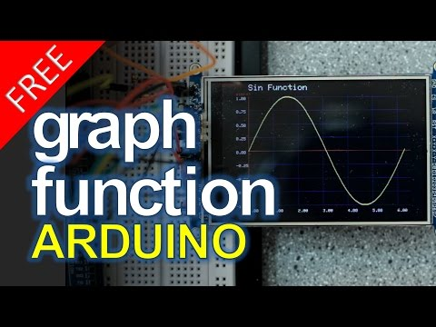 Arduino Graph Drawing - FREE CODE!!!