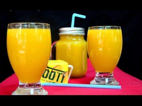mango Frooti Recipe | Homemade Frooti | Mango Juice Recipe