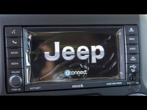 Updating the Uconnect Firmware in my Jeep Grand Cheorkee