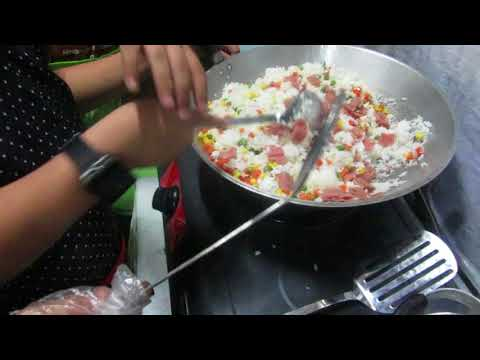 COOKING CHAO FAN FRIED RICE