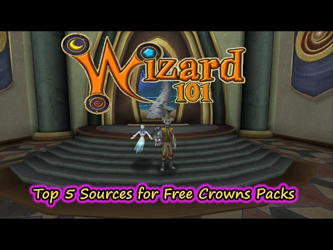 Wizard101 The Top 5 Sources for Free Crowns Packs - Hoard, Lore, & More!