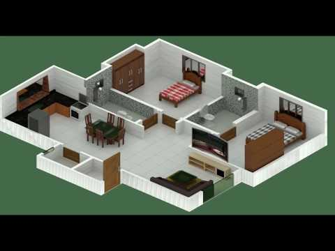 Blender -  isometric house low poly