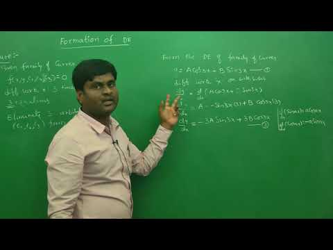 Formation of differential equation Intro:  Engineering Mathematics Tips (AU ,JNTU ,GATE,DU)