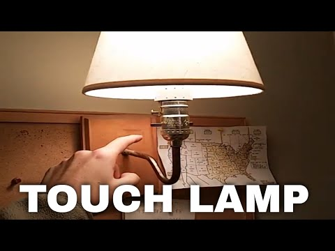 How to Turn Your Light into a Touch Lamp INSTANTLY!