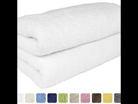 SALBAKOS Luxury Spa 100% Combed Turkish Cotton Large Oversized Eco-Friendly Bath Sheet Review