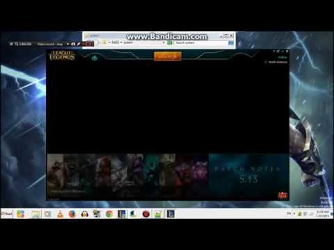 League Of Legends - How to change Client Language 2015 (English - Korean)
