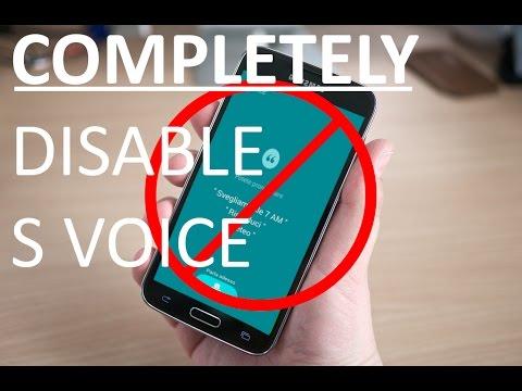 Remove S Voice - Samsung Galaxy s5