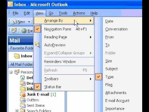 Microsoft Office Outlook 2003 Hide the message header