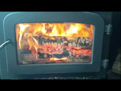 Super Easy Wood Stove Glass Cleaning !!