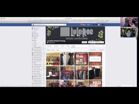 How to Create a Facebook Page & Event For Your LuLaRoe Business