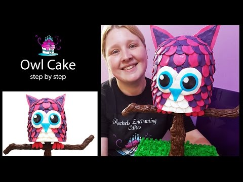 The Easiest Owl Cake - Hoot Hoot