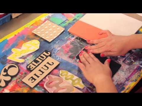ScanNCut: Cutting Foam Stamps