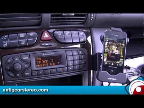iPod iPhone USB adapter Mercedes C Class 2004