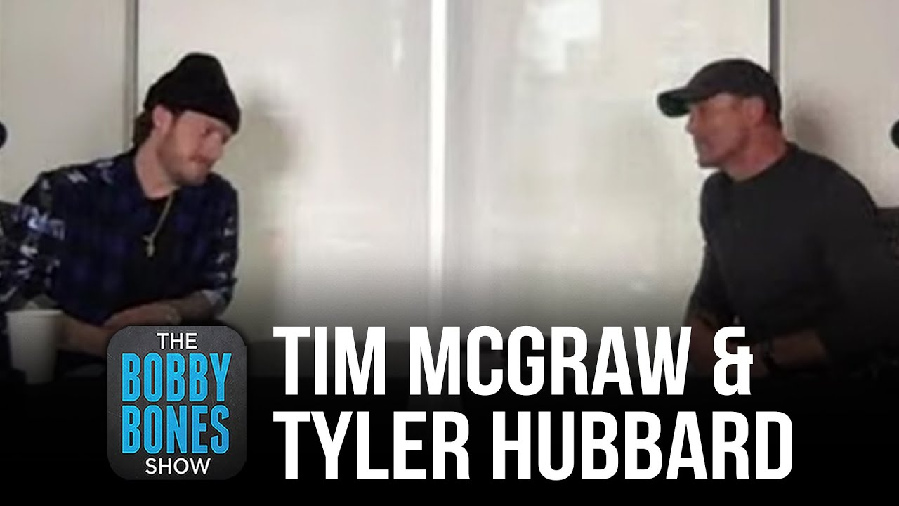 Tim McGraw And Tyler Hubbard Talk About Their New Collaboration