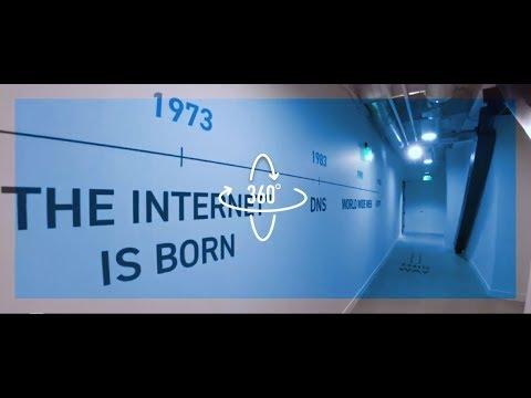 360°で操作できる動画「イノベーションの歴史」