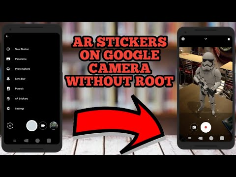mi a1 ar stickers without root - No root required!
