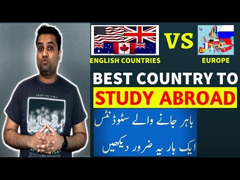 Best Country to Study Abroad || Europe OR English Countries?