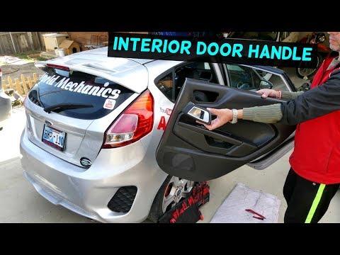 FORD FIESTA REAR INTERIOR DOOR HANDLE REPLACEMENT FIESTA MK7 2008-2017
