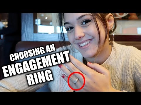 CHOOSING an ENGAGEMENT RING (with my LONG DISTANCE GIRLFRIEND)