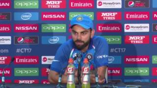 Virat Kohli after losing ICC champions trophy Final - India vs Pakistian - Press Conference 2017