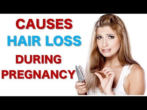 What Causes Hair Loss During Pregnancy? How to Stop Hair Loss? Pregnancy Signs Hair Loss in Women