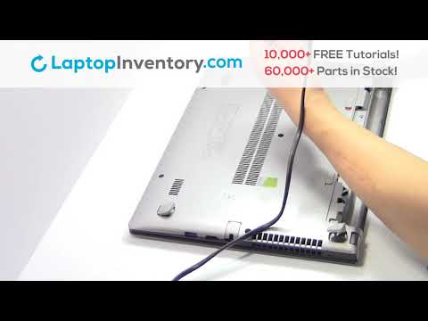 Lenovo IdeaPad S415 RAM Card Memory Replacement Guide - Disassembly Take Apart S300 S400 U300 U400