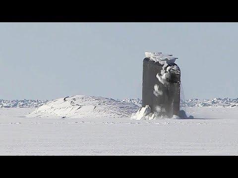 US Navy Nuclear Submarine Crashes Through Polar Ice