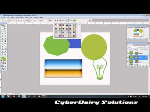 Adobe Photoshop CS3 Tutorial  : Using Photoshop Tools Part 2 [Hindi]