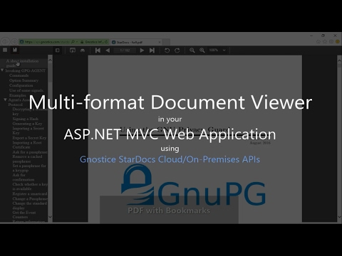 How to display PDF and Office documents in your ASP.NET Web Application (MVC) using StarDocs