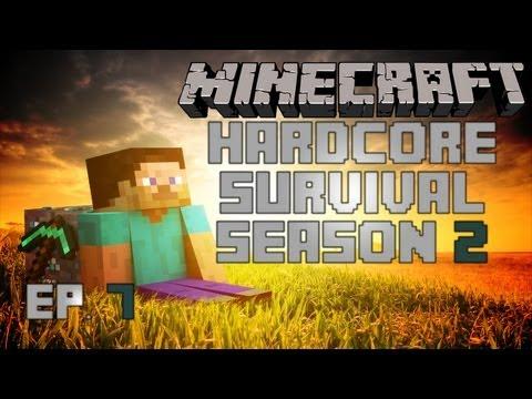 Minecraft: House Building Project! Part 2 - Hardcore Survival - S2 Ep7