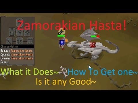 Zamorakian Hasta 2007 osrs ~How To~
